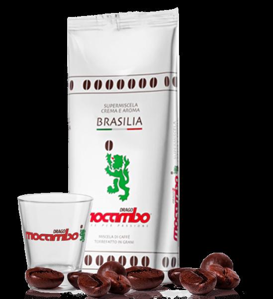 Mocambo Brasilia, Kaffee Espresso 1kg Bohnen