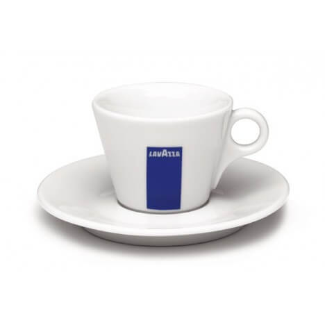 Lavazza Milchkaffee Tasse BLUE Collection - Set mit 6 Stück