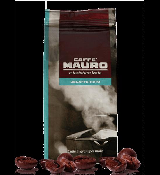 Mauro koffeinfrei Decaffeinato Espresso Kaffee 500 Gramm Bohnen
