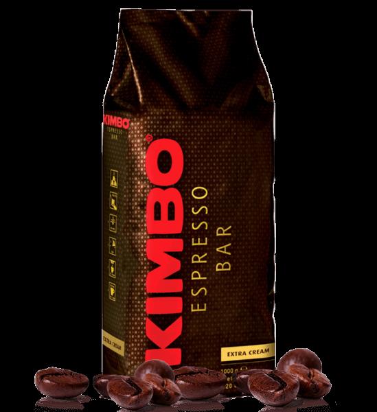 Kimbo Extra Cream, 1 kg Kaffee Bohnen