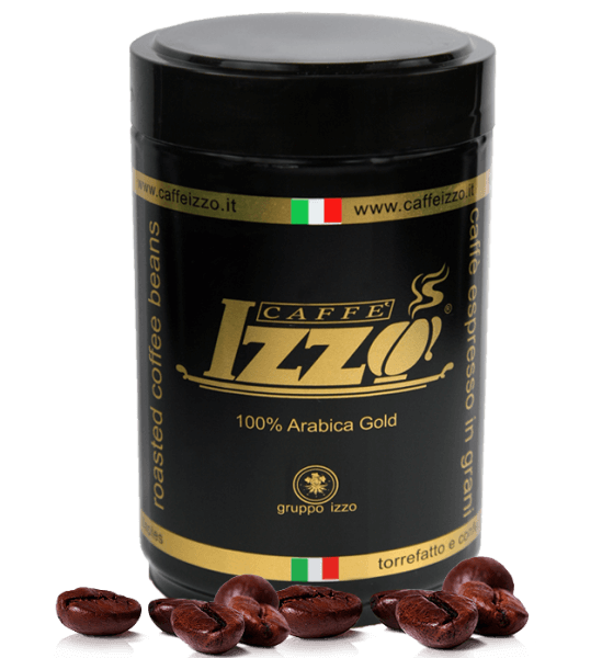 Izzo 100% Arabica Espresso Kaffee 250g Bohnen
