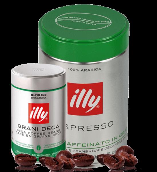 Illy Entkoffeinierte Espressobohnen - 250 Gramm