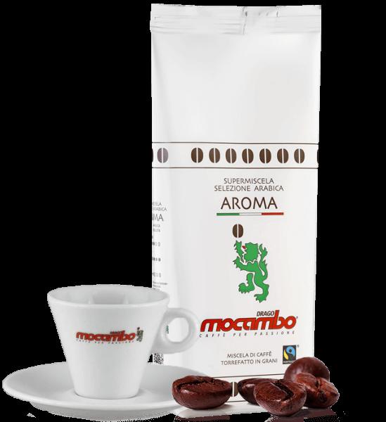 Mocambo Kaffee Aroma Fair Trade, 1kg Bohnen