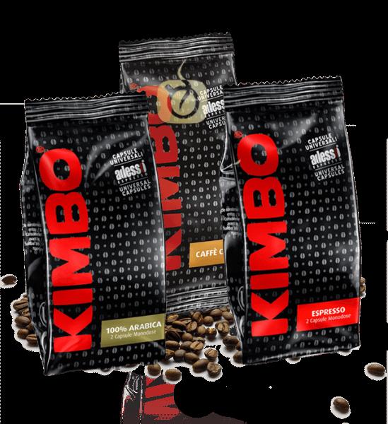 Kimbo Espresso - Kaffeekapseln Probierpaket 20 x 2 Stück