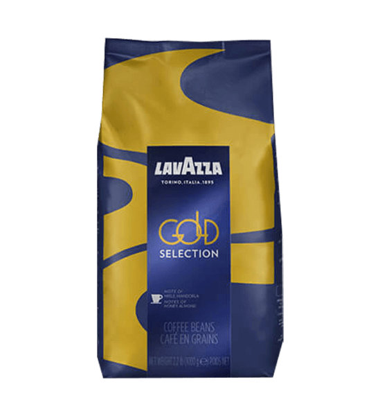 Lavazza Gold Selection Espresso Kaffee 1000 Gramm Bohnen