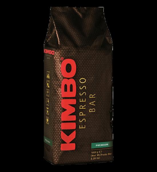 Kimbo Premium 1kg Bohnen