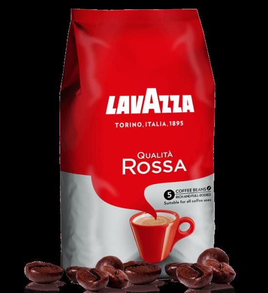 Lavazza Qualita Rossa 1kg, Espresso Bohnen