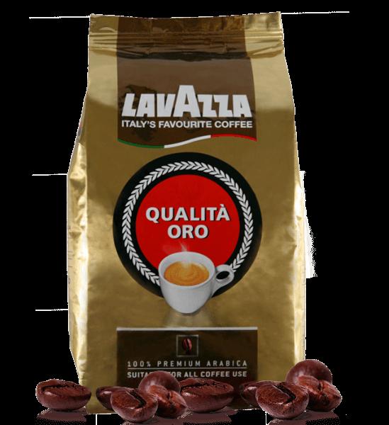Lavazza Qualita Oro, 1kg Espresso Kaffee Bohnen