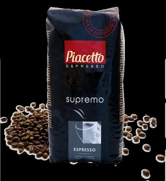 Piacetto Espresso Superiore Espresso Kaffee 1000 Gramm Bohnen